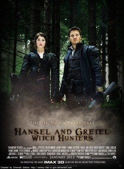 韩赛尔与格蕾特之女巫猎人