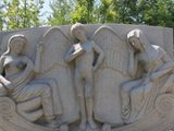 西安世园会雕塑私处被摸黑