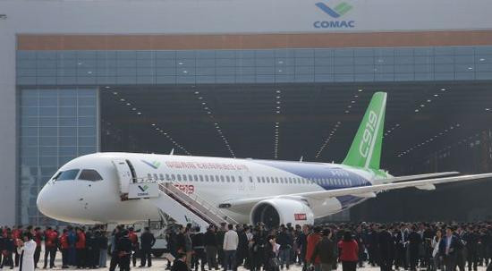 The rise of China's large aircraft to make the Boeing Airbus would like to reduce production