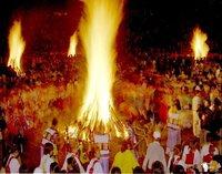 """藏族——除夕之夜,举行盛大的""""跳神会"""","""