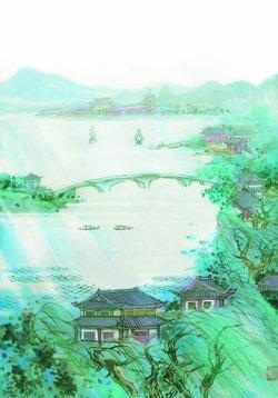 浙江诸暨西湖风景区