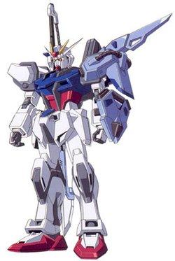 GAT-X105+AQM-E-X02剑战型强袭高达
