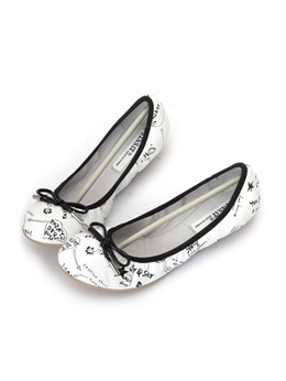 st&sat星期六 甜美休闲舒适平底鞋