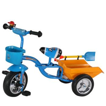 儿童三轮车 小孩带翻斗三轮