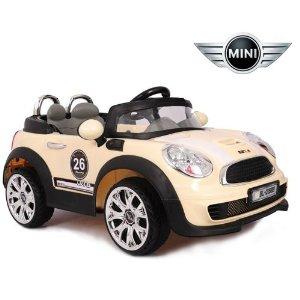 三乐 宝马迷你 儿童电动车玩具车电瓶车坐汽车童高清图片