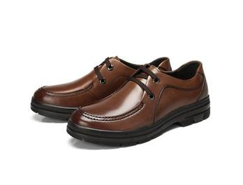 骆驼牌 男士皮鞋 商务休闲鞋