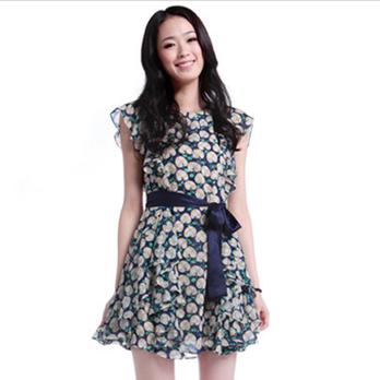 伊芙丽 2012夏季新款连衣裙