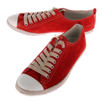prada(普拉达)男士红色休闲鞋