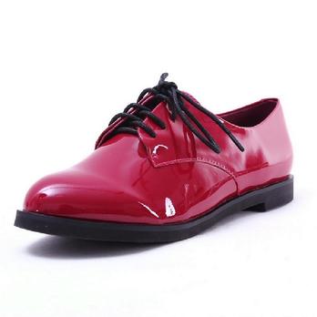 美系带女单鞋女鞋