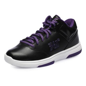 361度 男篮球鞋 黑/深紫