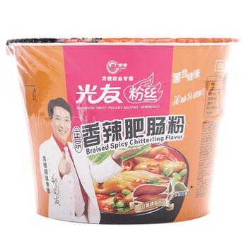 光友香辣肥肠粉100g/桶-梦见/速食品/带鱼即食方便真空青蟹图片