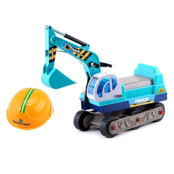 群兴卡通车挖机 可坐可骑挖土机