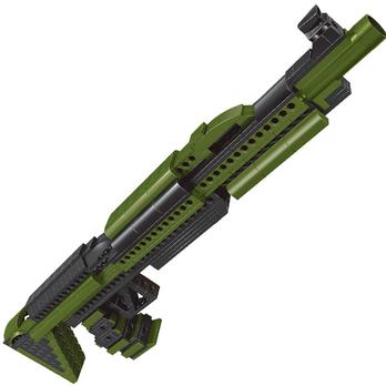 乐高玩具组装 光晕 狙击枪