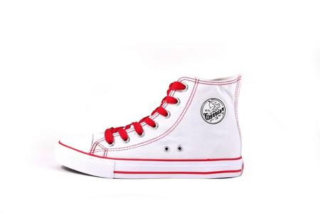 回力huili情侣款高帮经典时尚帆布鞋wxy-51白色*