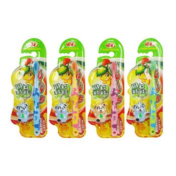 田七牙膏家庭装组合 70g换牙牙儿童牙膏 换牙期牙刷 140g7...
