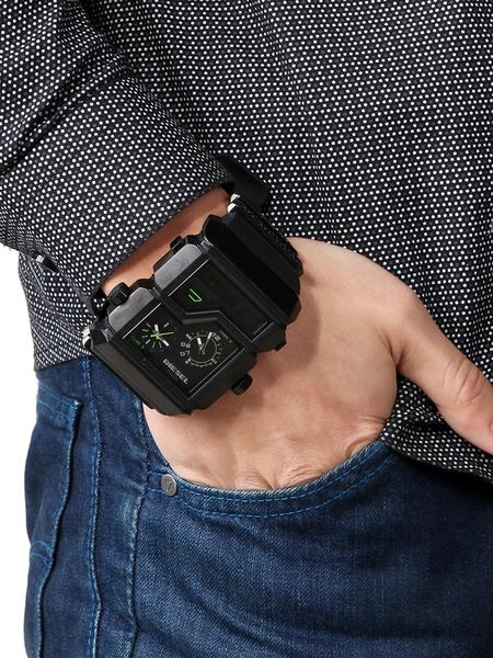 盘双显式男士手表