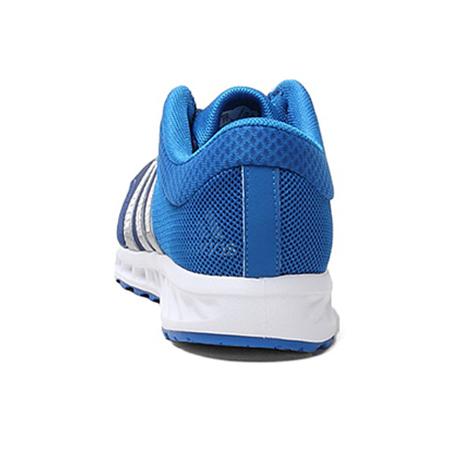阿迪达斯 男跑步鞋 蓝色