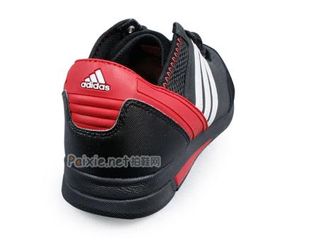 阿迪达斯(adidas)黑白红男运动鞋g03700