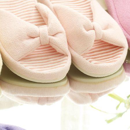 休闲毛巾女款拖鞋