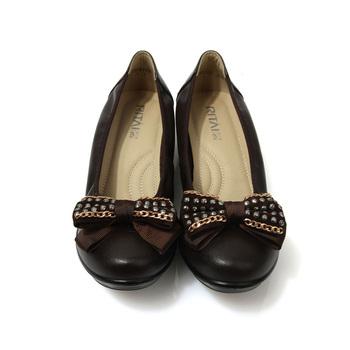 尚蝴蝶结水晶钻女凉鞋
