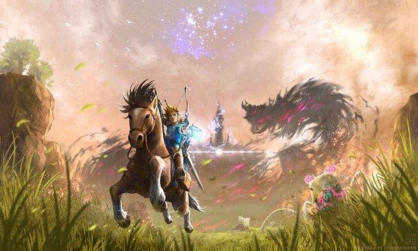 《塞尔达传说:荒野之息》全新概念图曝光3.jpg