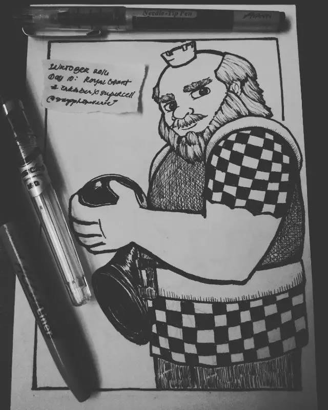 手绘黑白皇室世界5.jpg
