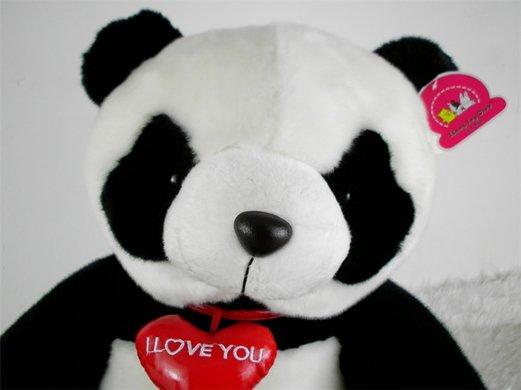 绒大熊猫玩具公仔