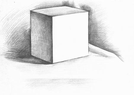 素描画画正方形