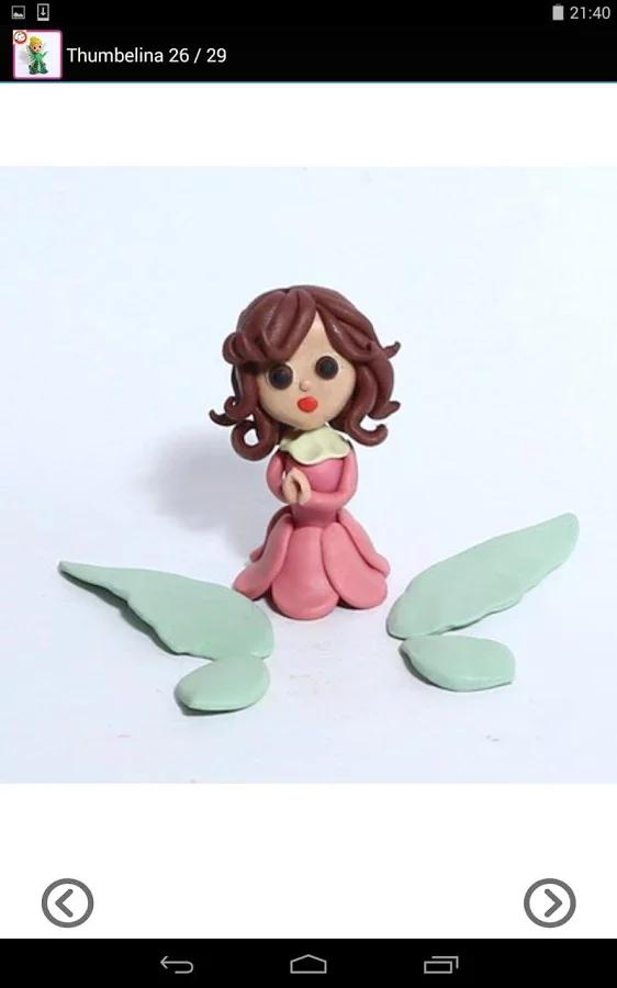 """公主和侏儒的魔法""""现在创建自己的神奇世界中的橡皮泥或软陶."""