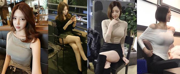 韩国网红鼻祖 惊艳全球的米娜性感照