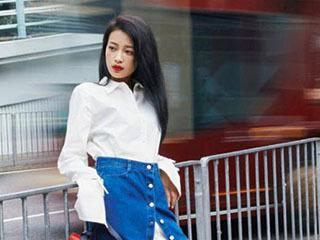 孙怡把充电线当成皮筋,她的时尚点子怎么这么多!