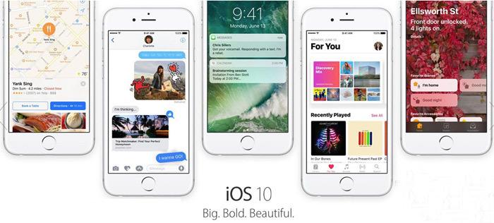 iOS 10新功能