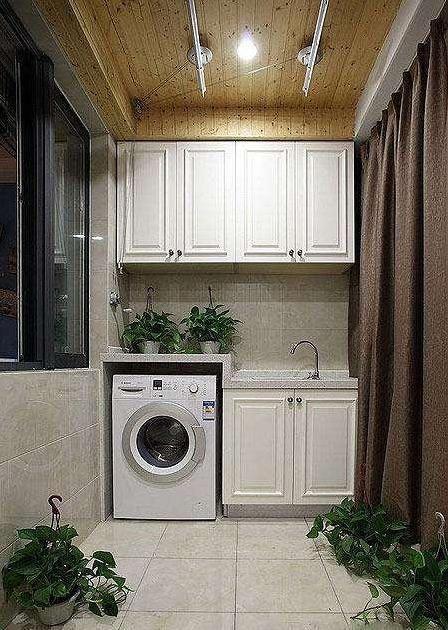 20款精美的图片洗衣图纸设计,总有一款适合你电缆桥架机柜阳台图片