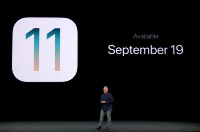 iOS 11将于9月20日上线