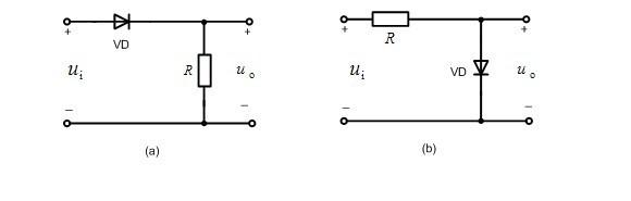在图所示的电路中,设二极管为理想的