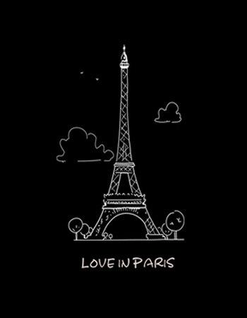 巴黎铁塔简笔画方法