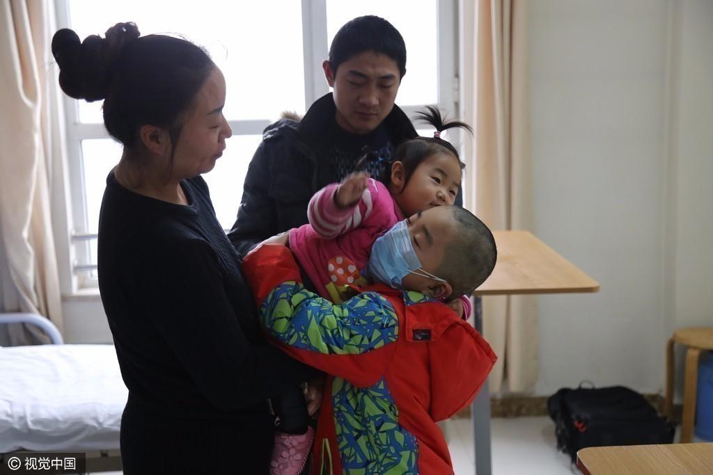 【转】北京时间     8岁贫血男童曲折重生路 曾欲采妹脐带血未成功 - 妙康居士 - 妙康居士~晴樵雪读的博客