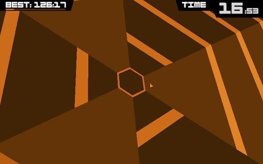 超级六边形 Super Hexagon截图1