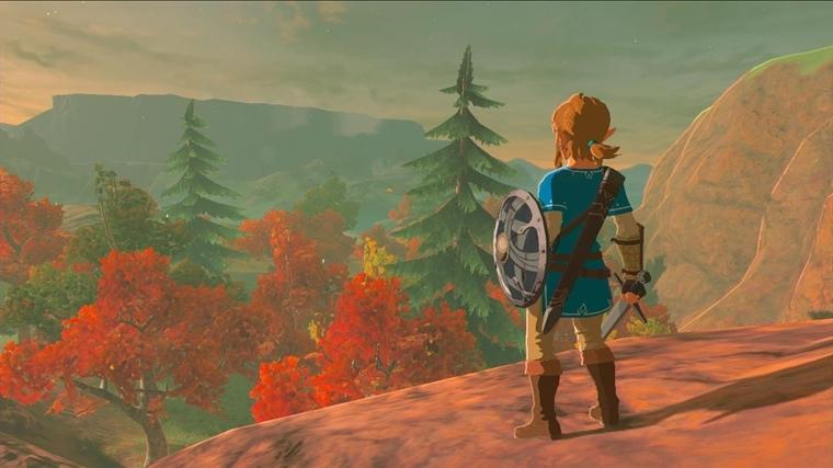 《塞尔达传说:荒野之息》游戏截图