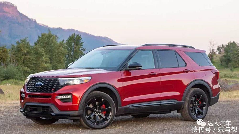 2020款福特探险者ST性能版,10AT+400马力,能和丰田普拉多一战吗