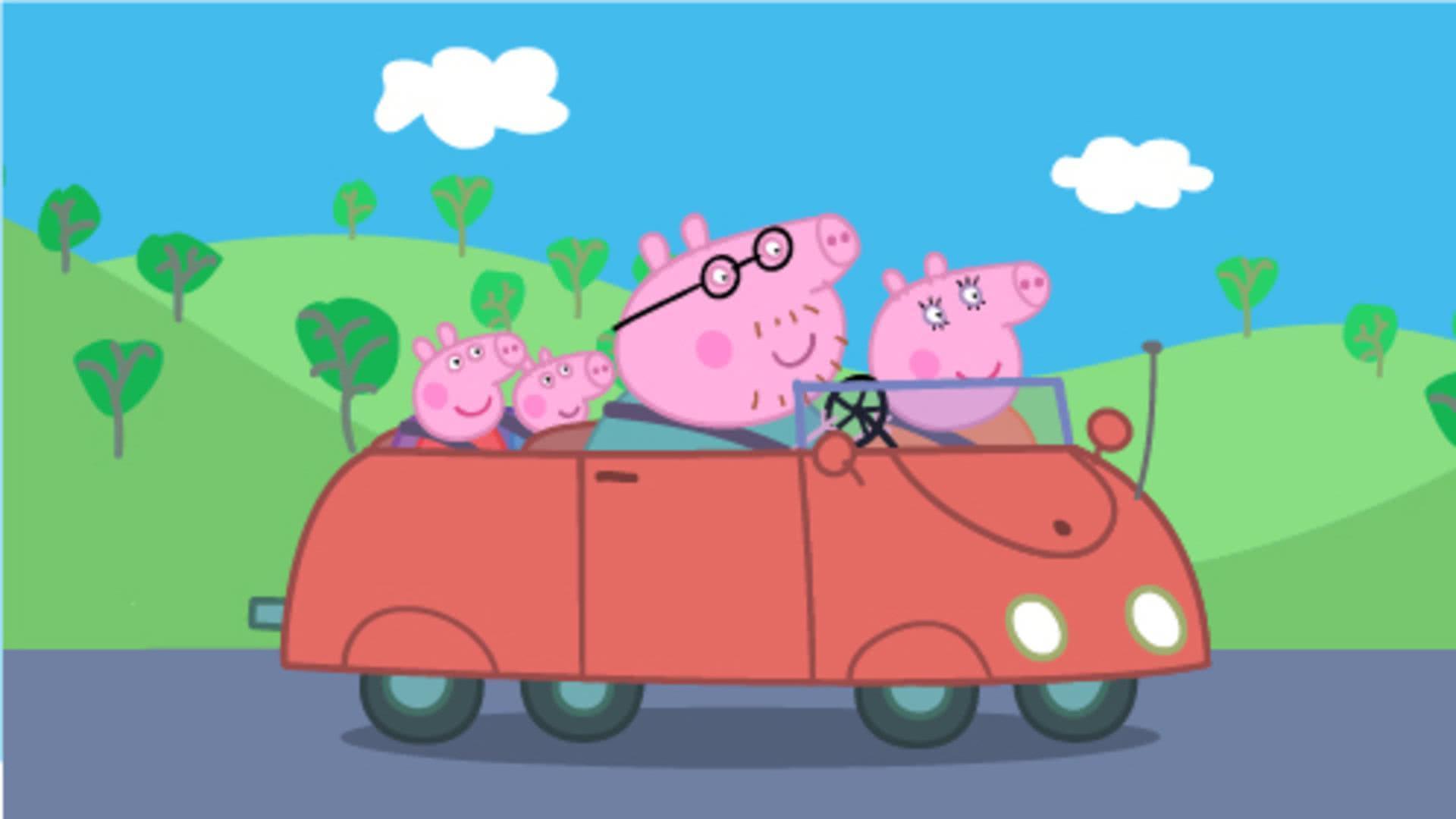 小猪佩奇第一季图片合集 粉红猪小妹可爱壁纸