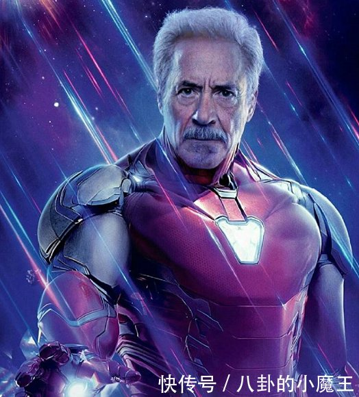 当复仇者进入老年期后,钢铁侠依旧帅气,班纳博士认不出