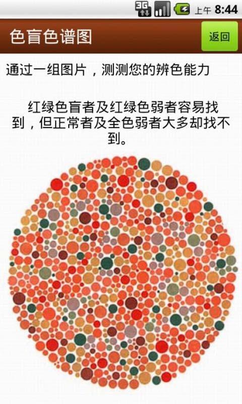 色盲色谱图截图2