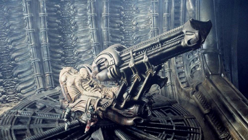 6分钟看完科幻片《异形》巨型外星飞船竟藏恐怖生物