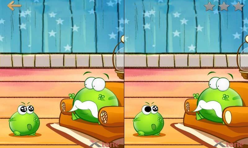两张图片找不同的游戏
