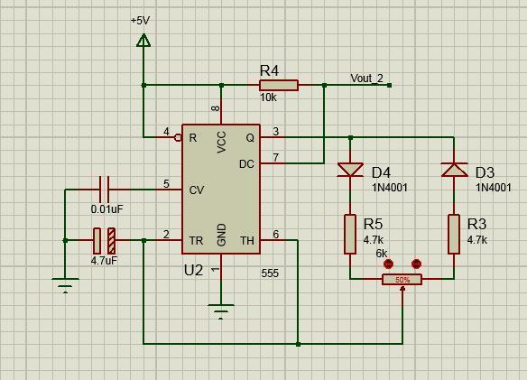 求大神解释下这2个555定时器作为多谢振荡器的电路