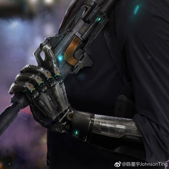 如果《赛博朋克2077》主角是白狼 机械体杰洛特帅炸--