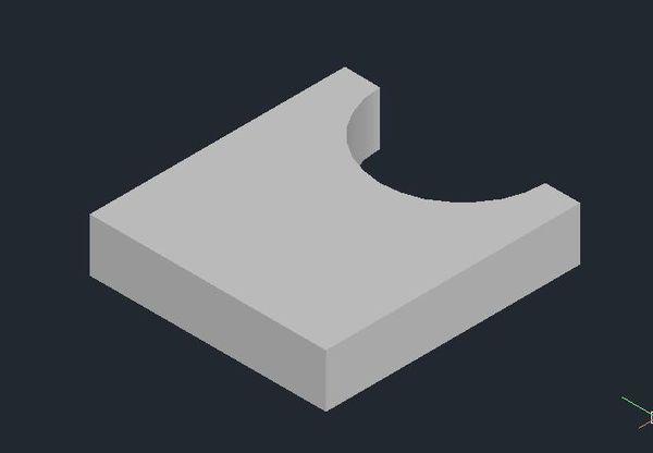 CAD中差集设置的的立体图取两个_360问cad重新如何相交比例图片