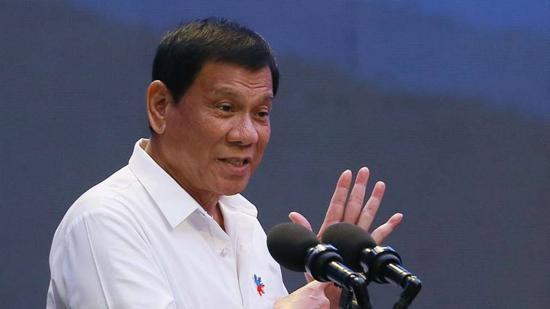 杜特尔特:菲律宾经济将会改善 其实中国是大好人