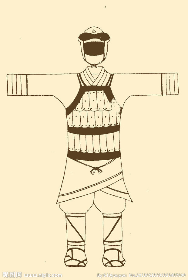 古代学生简笔画